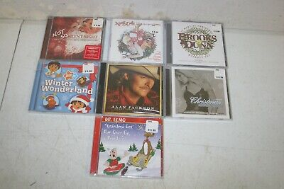 Lot 5: 7 New Sealed Christmas CDs - All Different Titles Country Pop Rock