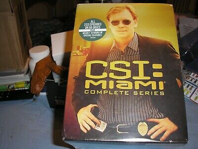 Csi: Miami - The Complete Series New Dvd