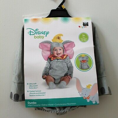 Disney DUMBO Costume Infant Baby Elephant Halloween 12-18 months Brand NEW