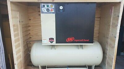 Ingersoll Rand 15hp UP6-15cTAS Rotary Screw Air Compressor w/ Integrated Dryer