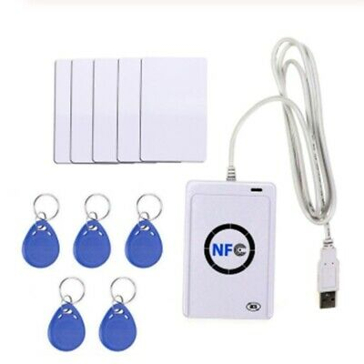 NFC Reader USB ACR122U Contactless Smart IC Card Writer and Reader Smart RF G7Y3
