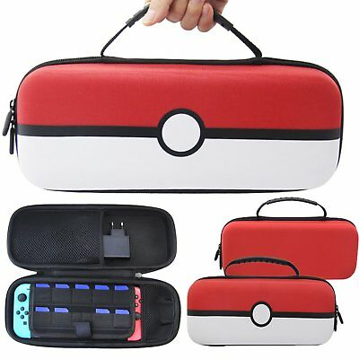 EVA Carrying Bag Storage Case Cover Protective Pouch for NS Switch Console
