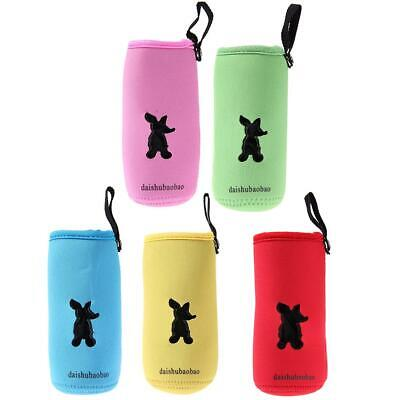 Milk Bottle Insulation Bag Cup Hang Warmer Thermal Bottle Cover Mummy Pouch h9
