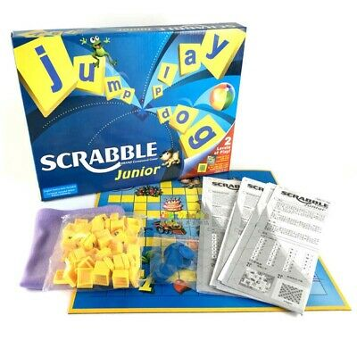 Junior Scrabble Board Game Family Party Fun Word Games Best Gift for Children