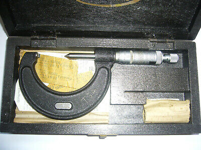 'Moore & Wright' No: 459 USS FORM Screw Thread Micrometer 22-30 TPI    (5018)
