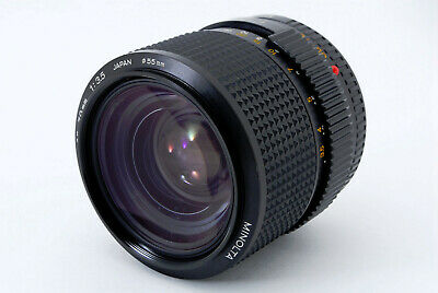 **AS IS** MINOLTA NEW MD 35-70mm F/3.5 NMD Standard Zoom Lens From Japan A0656