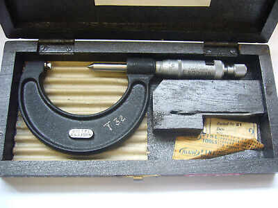 'Moore & Wright' No:457 USS FORM Screw Thread Micrometer 8-13 TPI    (5019)