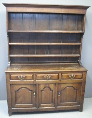 Really nice antique 18th century North Wales dresser Welsh oak