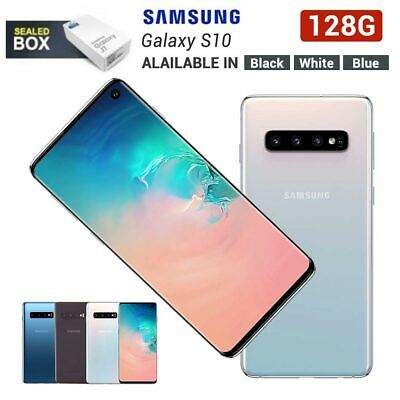 New Sealed Samsung Galaxy S10 Sm-G973F 128Gb Factory Unlocked Smartphone Uk