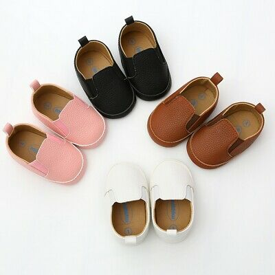 Baby Boys Girls Shoes Fashion Casual Leather Shoes Toddler Pre-Walkers Kid Shoes