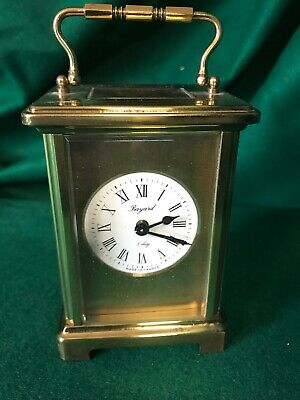 Vintage French Bayard 8 Day Duverdrey & Blouquel Carriage Clock- Working!