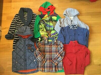 Boys Christmas Bundle Age 5-6 John Lewis Next Ralph Lauren Gilet Jumper Shirt