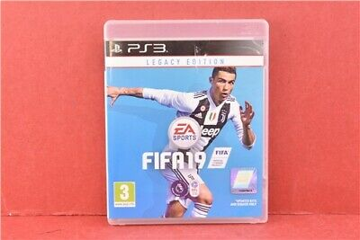 Playstation 3 FIFA 2019 Legacy Edition Football Video Games Sports in Case