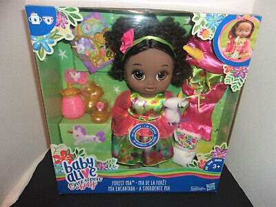 Baby Alive Forest Mia Unicorn Once Upon a Baby Talking African American Doll