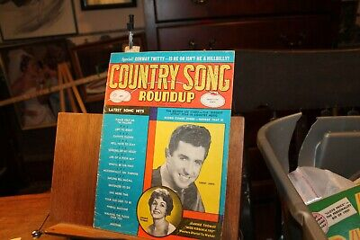 Vintage September 1968 Country Song Roundup Magazine Sonny James Jeannie Thomas