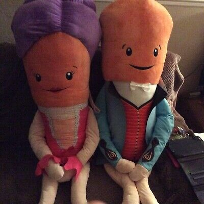GIANT SIZE Aldi Official Kevin the Carrot And Katie 2019 Soft Toys