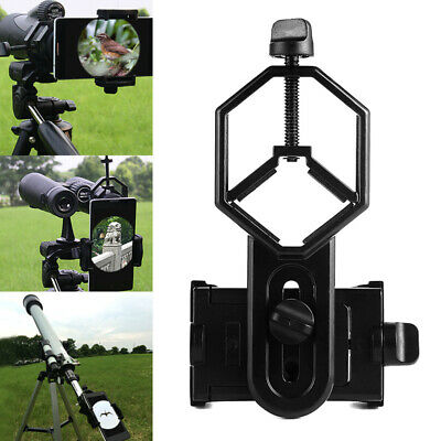 Universal Telescope Cell Phone Mount Adapter for Monocular Spotting Scope New