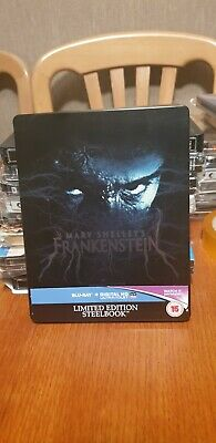 "Mary Shelley's Frankenstein ""Limited Edition"" Bluray Steelbook"
