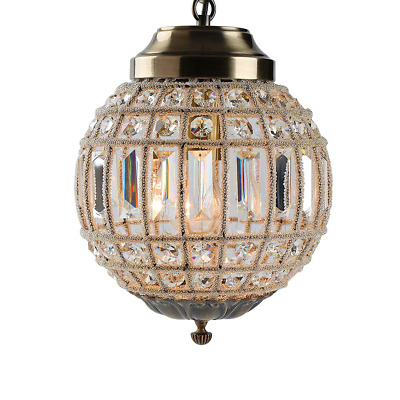 Retro Vintage Royal Empire Ball Style Big Led Crystal Modern Chandelier Lamp E27