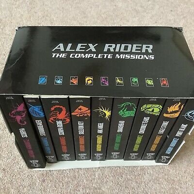 Alex Rider Complete 2013 Collection - Anthony Horowitz - 9 Books Boxed Set