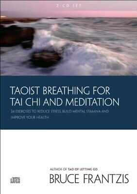 2 CD SET Taoist Breathing For Tai Chi And Meditation 24 Exercises Reduce Stress