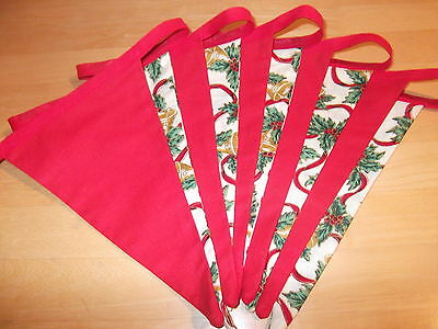 3 Metres Of Christmas-Themed Double Sided Bunting