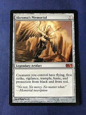 MTG Magic the Gathering Akromas Memorial Core Set 2013 x1