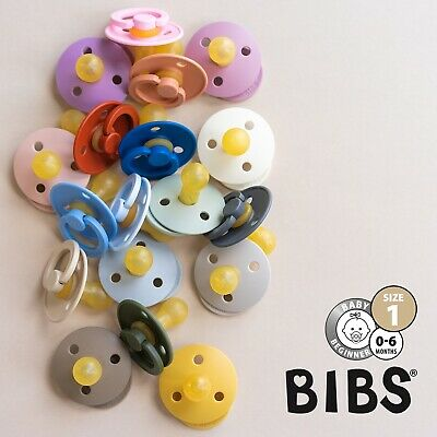 BIBS Pacifier / Danish Dummy | Size 1 (0-6 months) 30+ colours
