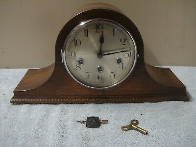 Such Beautiful Sound 1930 Vintage HALLER WESTMINSTER CHIME Mantel Clock SERVICED
