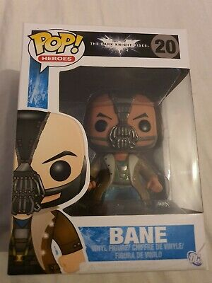 Funko Pop The Dark Knight Rises Bane Vaulted Rare