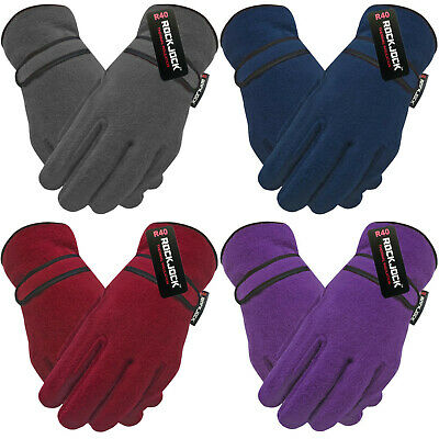 Winter Warmer Ladie/'s Women/'s Girl/'s Soft /& Cosy Chenille Thermal Winter Gloves