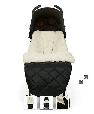 Mothercare faux fur universal cosytoes footmuff