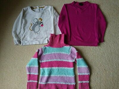Girls Jumpers Bundle (3 Items ), Age 3-4 Years, M&S, Next, Pumpkin Patch