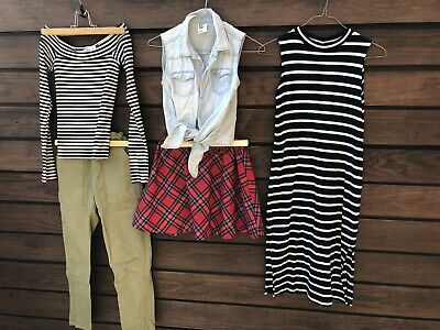 Girls bundle of clothing from Zara, H&M, Hollister and scandinavian brand Lindex