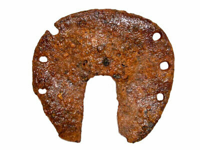 Very Rare Huge Roman Period Iron Horse Shoe, Well Preserved+++