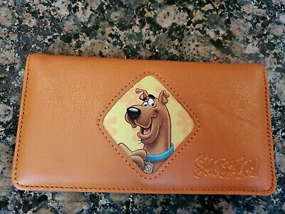 scooby doo wallet check book NEW unused hanna barbera free ship RARE item