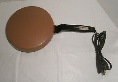Vintage Oster Crepe Maker Electric Model 742-03B Creperie Non-Stick Clean