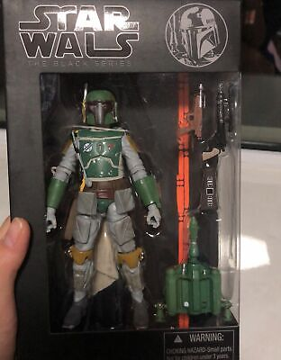 6 Inch STAR WARS The Black Series: The Force Awakens Boba Fett Action Figure