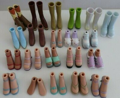 21 pairs bulk BRATZ DOLL accessories SHOES BOOTS, SLIPPERS, SPORTS SHOES, FEET