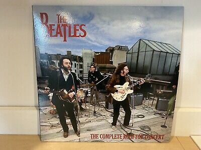 The Beatles- Complete Rooftop Concert- Brand New Black Vinyl Lp Record