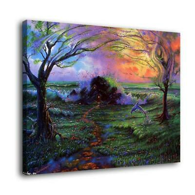 "16""x22""Jim Warren dreams Painting HD Print on Canvas Home Decor Wall Art Picture"