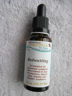Newton Homeopathics Kid Bedwetting 1 floz Dropper Bottle Fear Nervousness Trauma