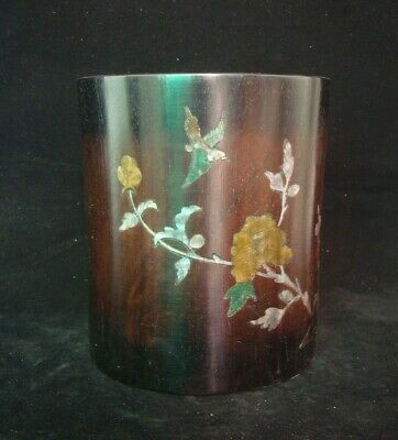 Top Quality!!! Rare Large Old Chinese Hand Carving Rosewood Brush Pot