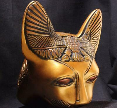 ORNATE ROYAL EGYPTIAN BASTET CAT Protective Goddess & Afterlife Guardian
