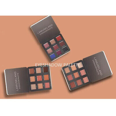 9 Colors Shimmer Glitter Eye Shadow Palette Matte Eyeshadow Cosmetic Makeup