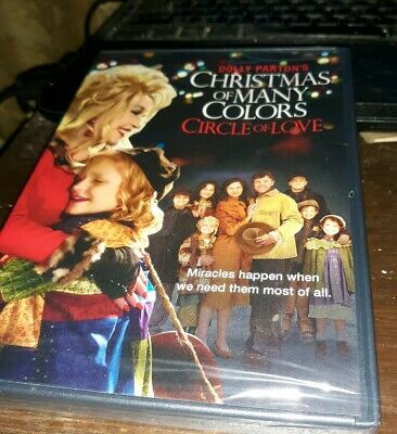Dolly Partons Christmas of Many Colors: Circle of Love (DVD, 2016)