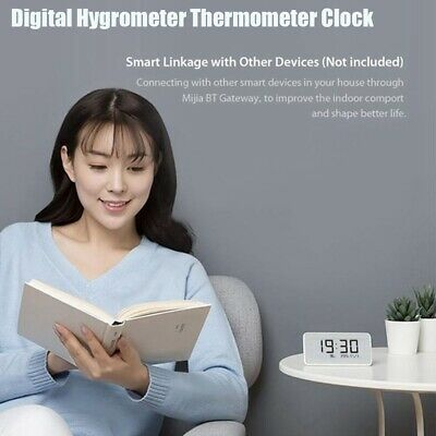 Xiaomi Mijia Smart Electric LCD Digital Clock Hygrometer Thermometer Test Meters