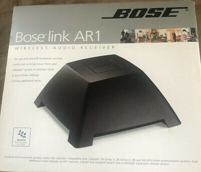 Bose Link AR1 Wireless Audio Receiver NIB