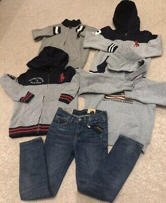 Polo Ralph Lauren Boys Designer Clothes Bundle 6-7 Years New Jeans