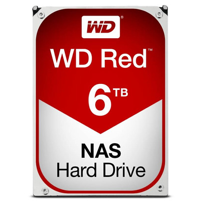 """6TB WD Red NAS SATA HDD 3.5"""" 6Gb/s WD60EFAX"""